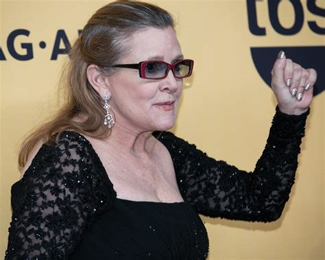 carrie fisher carrie fisher picture 35 21st annual sag awards press room
