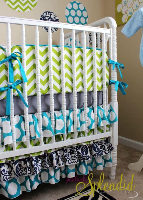 Diy Crib Bedding Diy Nursery Projects The Budget Decorator