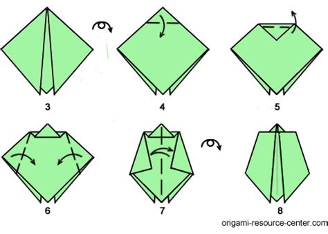 How To Make Origami Insects - easy origami bug