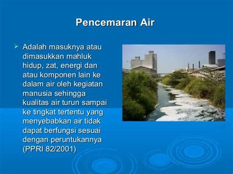 Air 2 Di Indonesia Pencemaran Air Di Indonesia Bahan Ajar