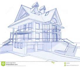 how to make blueprints for a house modern house blueprint stock photo image 6360290