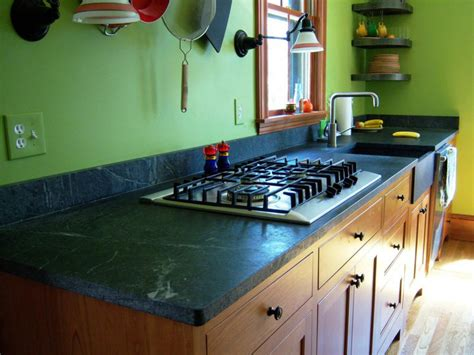 How To Clean Soapstone Countertops Soapstone Kitchen Countertops Hgtv