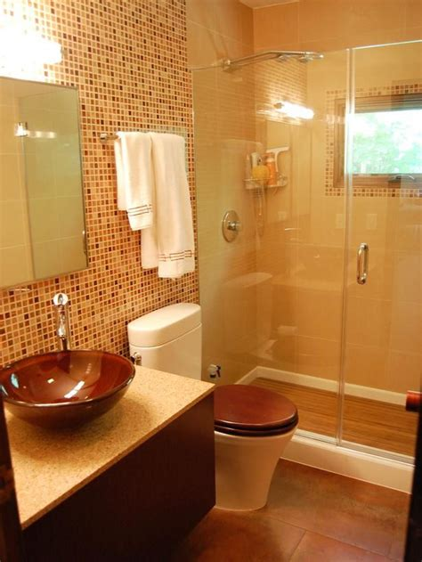 Brown Bathroom Tile 40 brown mosaic bathroom tiles ideas and pictures