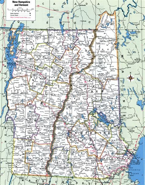 maine new hshire map arkansas map road map of vermont and new hshire arkansas map