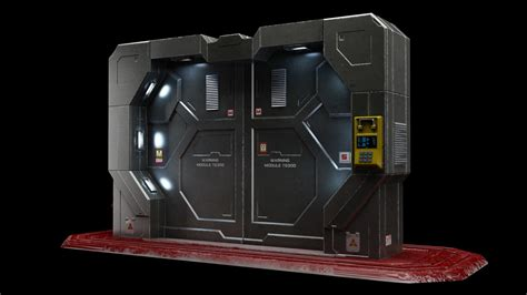 Sci Fi Door by Sci Fi Gate Door Max