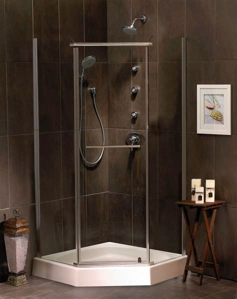 38 Neo Angle Shower Door Mirolin Sorrento 38 Inch Acrylic Neo Angle Shower Door Base The Home Depot Canada