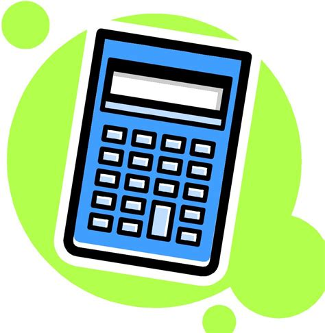 calculator calculus math calculator clipart
