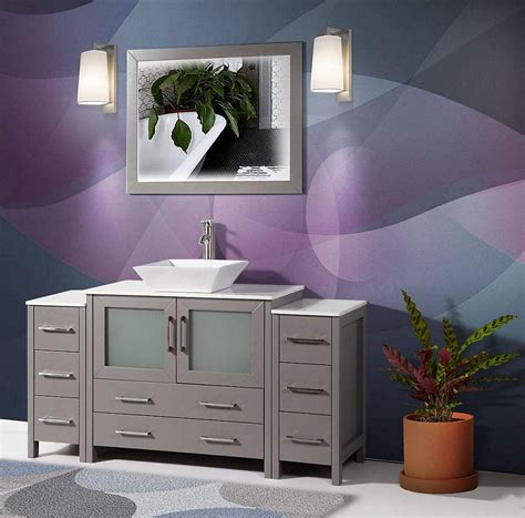 vanity art ravenna   bathroom vanity  grey