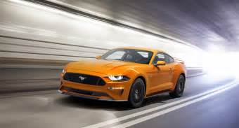 new mustang cars the 2018 mustang will driver assist tech 10 speed