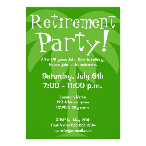 cozy invitation for retirement party as an extra ideas