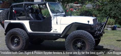 Jeep Wrangler Metalcloak Fenders Jeep Wrangler Yj Fenders And Armor 87 95