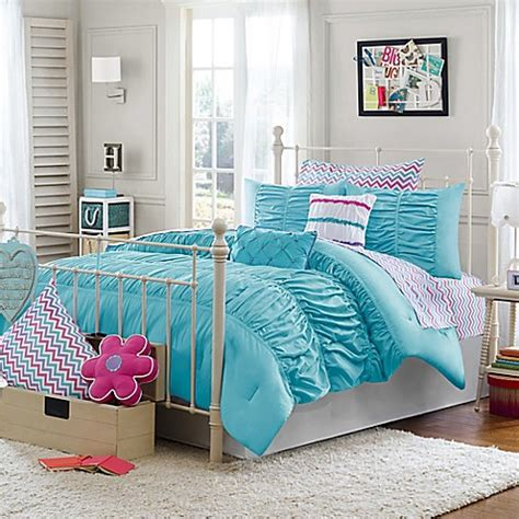 aqua comforter full buy julissa full queen 3 piece comforter set in aqua from