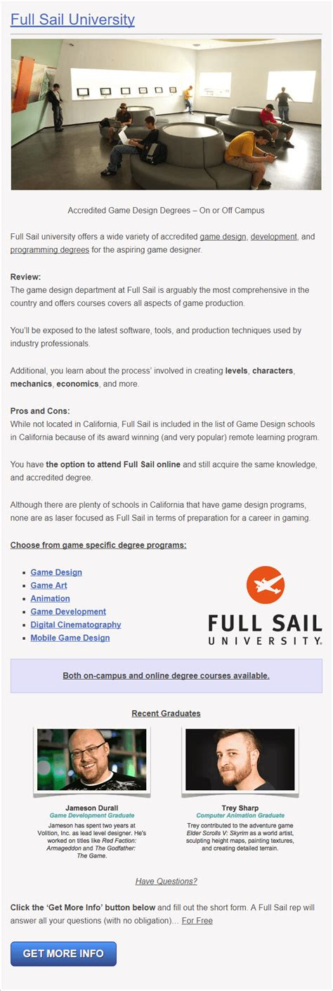game design schools in california 15 accredited game development programs in california
