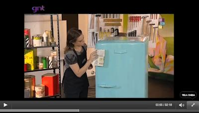 Sprei Bonita No 1 Florida casa simples geladeira velha tinta prateleira