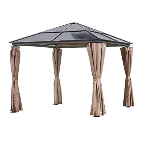 gartenpavillon mit seitenteilen gartenpavillons aus metall und weitere pavillons pergolen