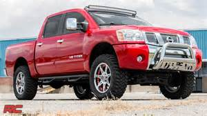Nissan Titan 4 Inch Lift Kit 2004 2015 Nissan Titan 4 Inch Suspension Lift Kit By