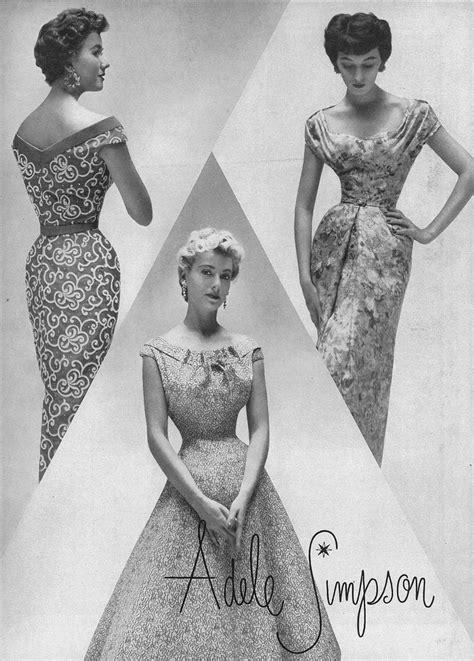 mid 30s fashion vintage adele simpson fashion 20 best adele simpson images