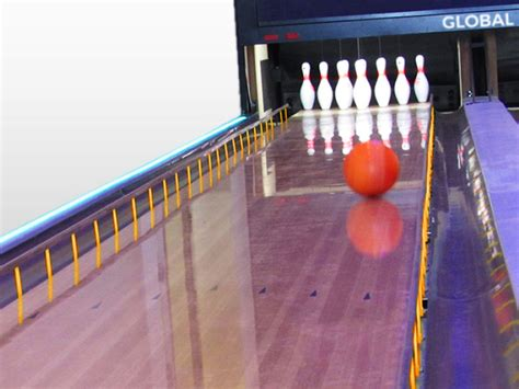 global bowling  bumpers gutters capping