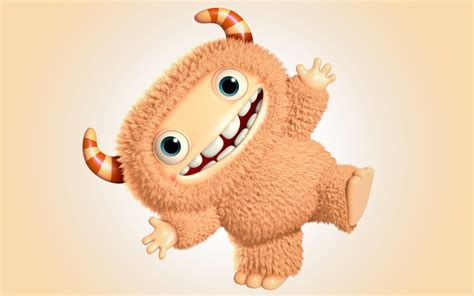 wallpaper cute monster 3d funny cute monster wallpaper funny wallpaper better