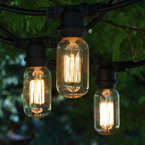 outdoor edison string lights indoor outdoor string lights decor lighting for