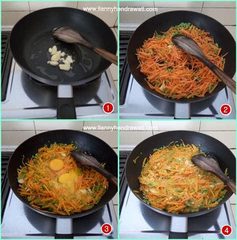 cara membuat seblak telur orak arik orak arik wortel buncis telur masakan pertamaku lianny
