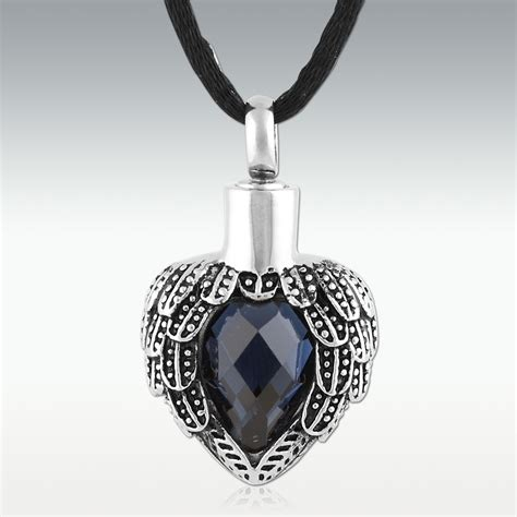 memorial jewelry sapphire near stainless steel cremation jewelry memorials