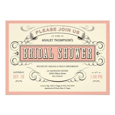 unique bridal shower invites unique vintage bridal shower invitations bridal shower