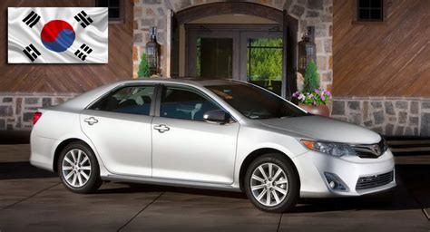 hyundai in shock as toyota camry wins 2013 quot korea car of