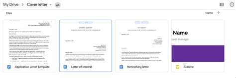 cover letter template google docs find