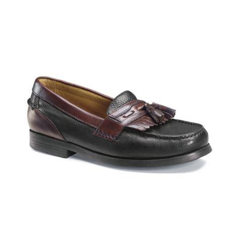 docker loafers dockers strategy genuine handsewn kiltie tassel loafers in