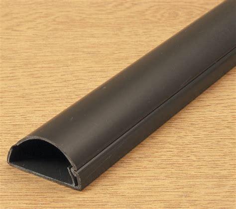 self adhesive cabinet edging d line mini trunking 16mm x 8mm black self adhesive