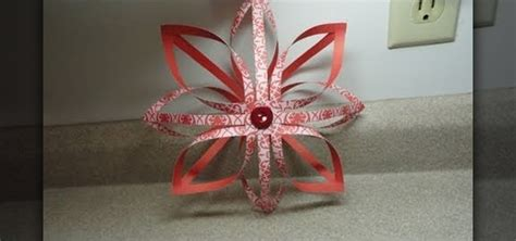 3d Decorations To Make Out Of Paper - how to craft a 3d paper ornament