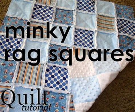 Quilting With Minky Tutorials by 25 Best Ideas About Flannel Rag Quilts On