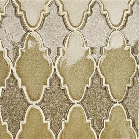 gold arabesque tile splashback tile selection iced gold arabesque glass