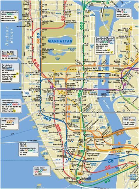 printable maps manhattan interactive tour walking maps of manhattan upper
