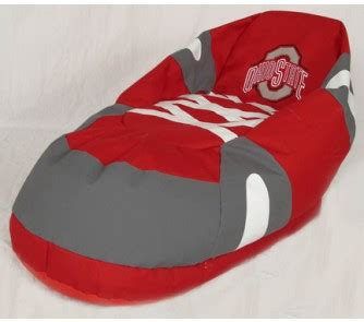 ohio state bean bag chair ohio state buckeyes comfy quot big foot quot bean bag boot