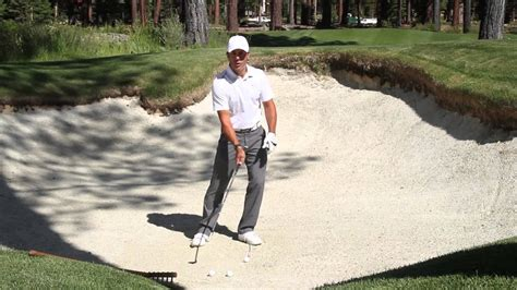 martin chuck golf swing golf tips with martin chuck bunkers youtube