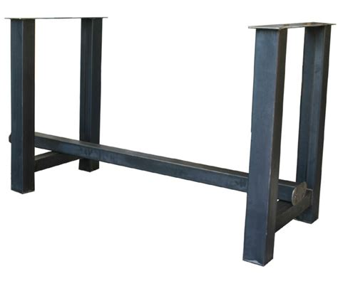 gestell metall 3er set bartisch gestell metall grau tischgestell bar