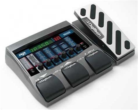 New Series Digitec snamm06 three new modeling guitar processors from digitech