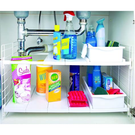 The Sink Shelf Organizer by Sink Shelf Organizer In Sink Organizers