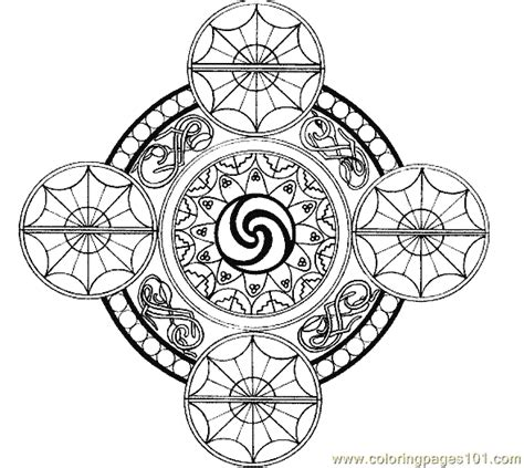 tiger mandala coloring pages free coloring pages of mandala tiger