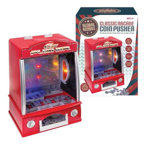 Mini 2 Global Teleshop global gizmos battery operated mini arcade coin pusher with lights and coins ebay