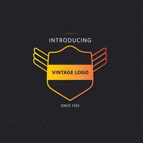 free vintage logo design templates vintage logo template design vector free download