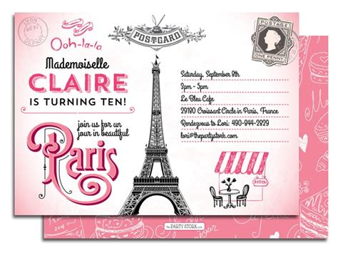 paris party invitations theruntime com