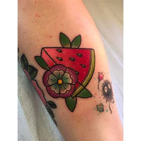 watermelon tattoo best 25 fruit ideas on random tattoos