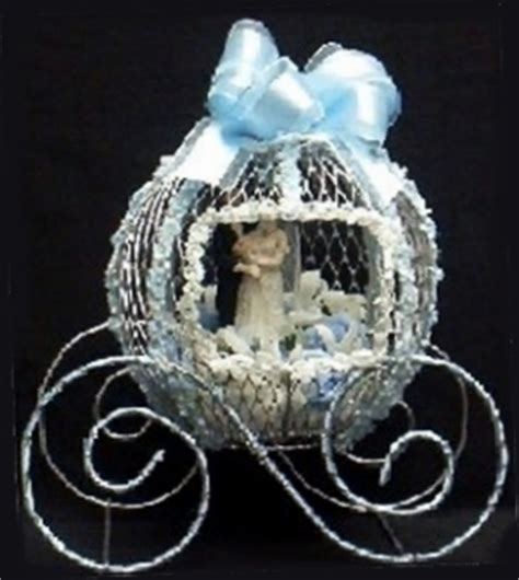 cinderella pumpkin coach centerpiece wire mesh form