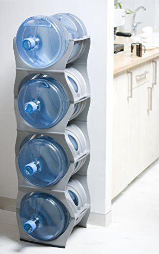 Water Dispenser Rack u water cooler bottle rack silver four bottle rack