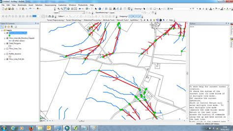 arcgis tutorial geometric network generate new geometric network from intersection between