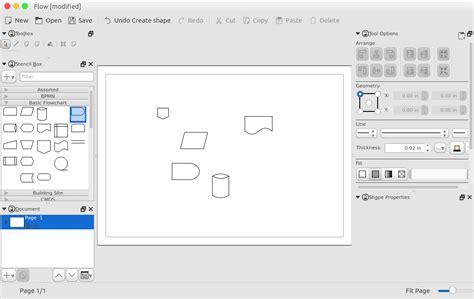 open source flow diagram software 6 best open source diagram software better tech tips