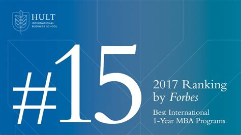 Hult Mba Ranking by Hult Mba Program Ranked 15th Best By Forbes Hult